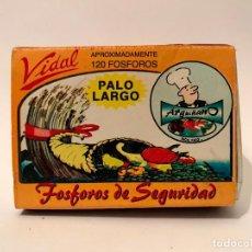 Cajas de Cerillas: ANTIGUA CAJA DE CERILLAS VIDAL ARGUIÑANO, . Lote 81151092