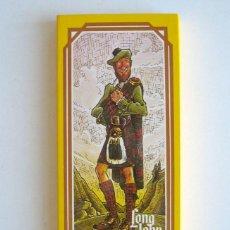 Cajas de Cerillas: ESTUCHE 6 CAJAS DE CERILLAS. PUBLICIDAD LONG JOHN. 16 X 7,5 CM. AÑOS 70. Lote 82018668