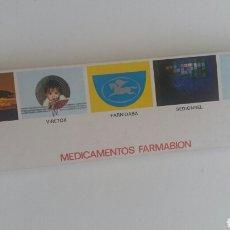 Cajas de Cerillas: (SEVILLA) 10 CAJAS CERILLAS FARMABION. Lote 84393119