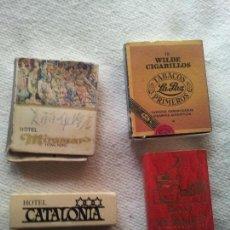 Cajas de Cerillas: 4 ANTIGUAS CAJAS DE CERILLAS . Lote 85221640