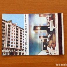 Cajas de Cerillas: CARTERITA DE CERILLAS - HOTEL GENERAL ALAVA, VITORIA - GENERAL FOSFORERA . Lote 85716472