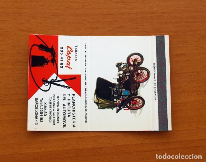 CARTERITA CERILLAS - TALLERES COPAL, BARCELONA - GENERAL FOSFORERA (Coleccionismo - Objetos para Fumar - Cajas de Cerillas)