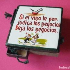 Cajas de Cerillas: CAJA DE CERILLAS FÓSFOROS DE PAPEL CERILLERO CON AZULEJO ESCUDOS GERONA LERIDA ZAMORA. Lote 75426687