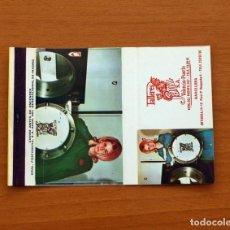 Cajas de Cerillas: CARTERITA DE CERILLAS - TALLERES SANZ S.A. VALENCIA-PUERTO, BARCELONA - GENERAL FOSFORERA . Lote 86092660