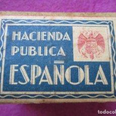 Cajas de Cerillas: CAJA DE CERILLAS, CONTIENE CERILLAS, HACIENDA PUBLICA ESPAÑOLA, C.A.F, B1. Lote 86213824