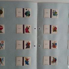 Cajas de Cerillas: 16 CAJAS CERILLAS NAIPES FOSFORERA ESPAÑOLA. Lote 86609090