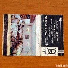 Cajas de Cerillas - Carterita de cerillas - Hotel Casa Curro, Málaga - 88289784