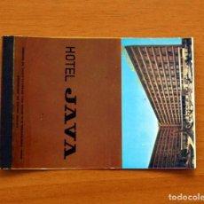 Cajas de Cerillas: CARTERITA DE CERILLAS - HOTEL JAVA. Lote 88753772