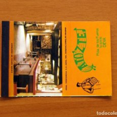 Cajas de Cerillas: CARTERITA DE CERILLAS - BAR ATO'Z TE, DEVA, GUIPÚZCOA. Lote 88780556