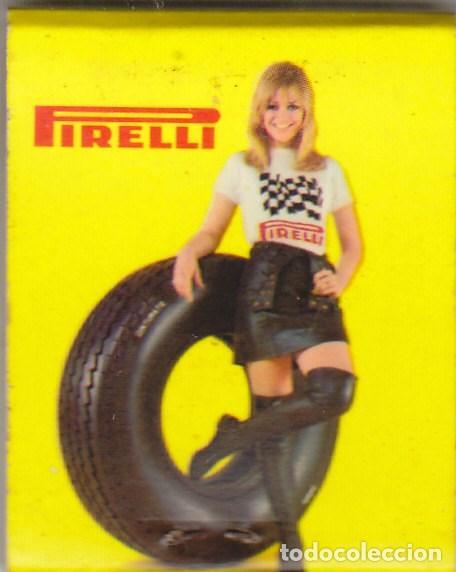 Cajas de Cerillas: CAJA DE CERILLAS.MOTOS AUTOS HERBELLA.PIRELLI. - Foto 2 - 89306824