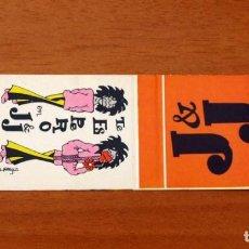 Cajas de Cerillas: CARTERITA DE CERILLAS - DISCOTECA J & J. Lote 89580540