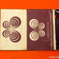 Cajas de Cerillas: CARTERITA DE CERILLAS - DISCOTECA METAMORFOSIS, BARCELONA - SACCONE & SPEED IBERIA S.A.. Lote 89600488