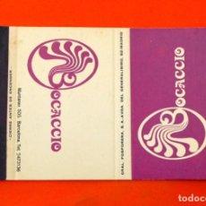 Cajas de Cerillas: CARTERITA DE CERILLAS - DISCOTECA BOCACCIO, MADRID . Lote 89601764