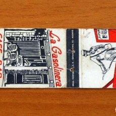 Cajas de Cerillas: CARTERITA DE CERILLAS - CAFÉ BAR LA GASOLINERA, VALMOJADO, TOLEDO. Lote 89729928
