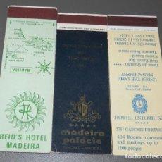 Cajas de Cerillas: LOTE DE 3 CAJAS DE CERILLAS DE PORTUGAL. Lote 89866088