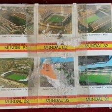 Cajas de Cerillas: COLECCIÓN DE 10 CAJAS DE CERILLAS. MUNDIAL DE FUTBOL ESPAÑA 1982. . Lote 90944230