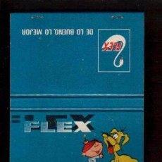 Cajas de Cerillas: CERILLAS PUBLICIDAD ANTIGUA-COLCHONES FLEX LA DE LA FOTO VER TODOS MIS LOTES DE CERILLAS . Lote 90957645