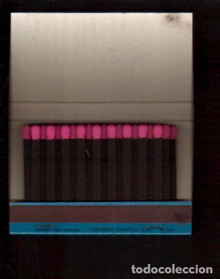 Cajas de Cerillas: CERILLAS PUBLICIDAD ANTIGUA-COLCHONES FLEX LA DE LA FOTO VER TODOS MIS LOTES DE CERILLAS - Foto 2 - 90957645