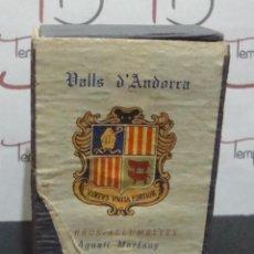 Cajas de Cerillas: (TC-21) ANTIGUA CAJA CERILLAS GRANDE VALLS D'ANDORRA AGUSTI MARFANY SANT JULIA. Lote 91867260