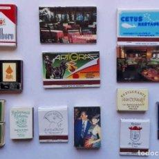 Cajas de Cerillas: CAJAS DE CERILLAS VARIADAS, 15 UDS.. Lote 91921915
