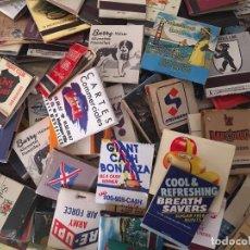 Cajas de Cerillas: 140 CAJAS DE CERILLAS EXTRANJERAS, AÑOS 60-80. Lote 93097015