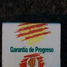 Cajas de Cerillas: CERILLAS PUBLICIDAD ELECTORAL VOTA P.A.R. Lote 93193905