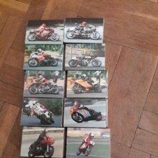 Cajas de Cerillas: CAJAS DE CERILLAS SERIE MOTOS DE COMPETICIÓN LLENAS. Lote 93379124