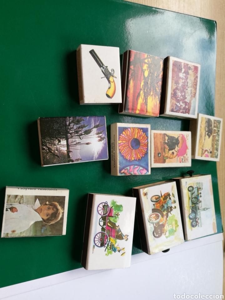 LOTE DE 11 CAJAS DE CERILLAS DE COLECCIÓN DE FOSFORERA ESPAÑOLA (Coleccionismo - Objetos para Fumar - Cajas de Cerillas)