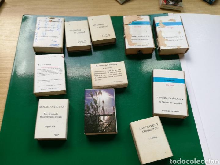 Cajas de Cerillas: Lote de 11 cajas de cerillas de colección de Fosforera española - Foto 2 - 94135617