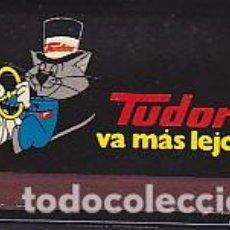Cajas de Cerillas: CAJA DE CERILLAS CON CERILLAS BATERIAS TUDOR . Lote 94157840