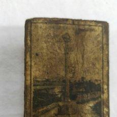 Cajas de Cerillas: MUY ANTIGUA CAJA DE CERILLAS PUEBLOS DE ESPAÑA. GRANADA. FOSFORETA CANARIENSE. Lote 95962351