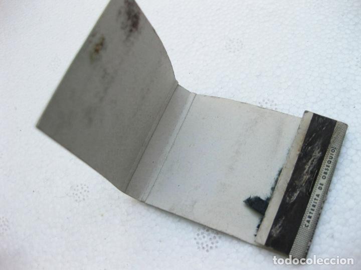 Cajas de Cerillas: CAJA DE CERILLAS ESPAÑOLA PUBLICITARIA DE AUTOMOVILES CITROEN - VACIA - Foto 2 - 96815771