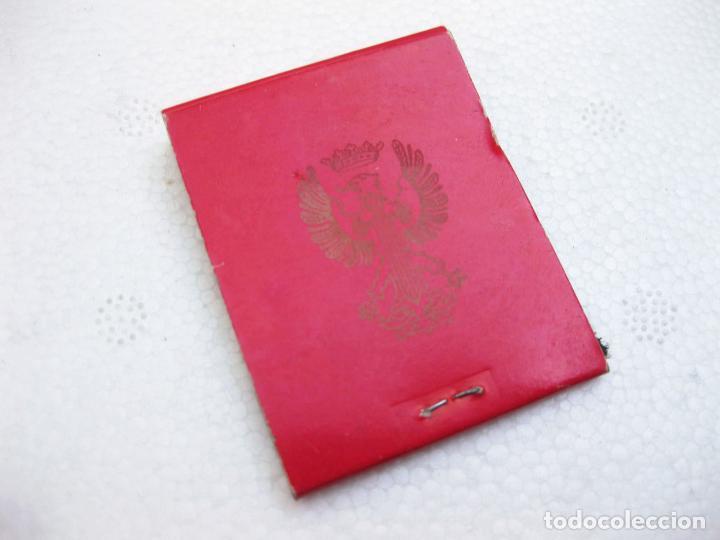 Cajas de Cerillas: CAJA DE CERILLAS DEL CENTRO DE RECLUTAMIENTO CIR 16 - SAN FERNANDO - CADIZ - Foto 3 - 96817755