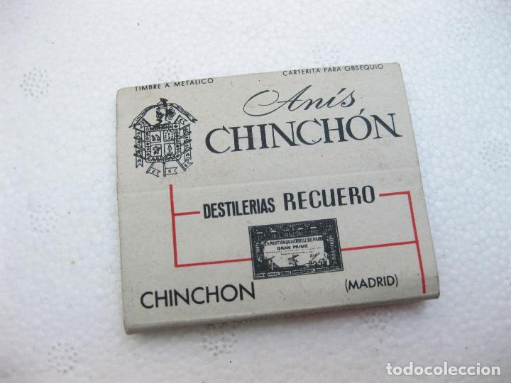 Cajas de Cerillas: CAJA DE CERILLAS ESPAÑOLA PUBLICITARIA DE ANIS CHINCHON - DESTILERIAS RECUERO - Foto 3 - 96818667