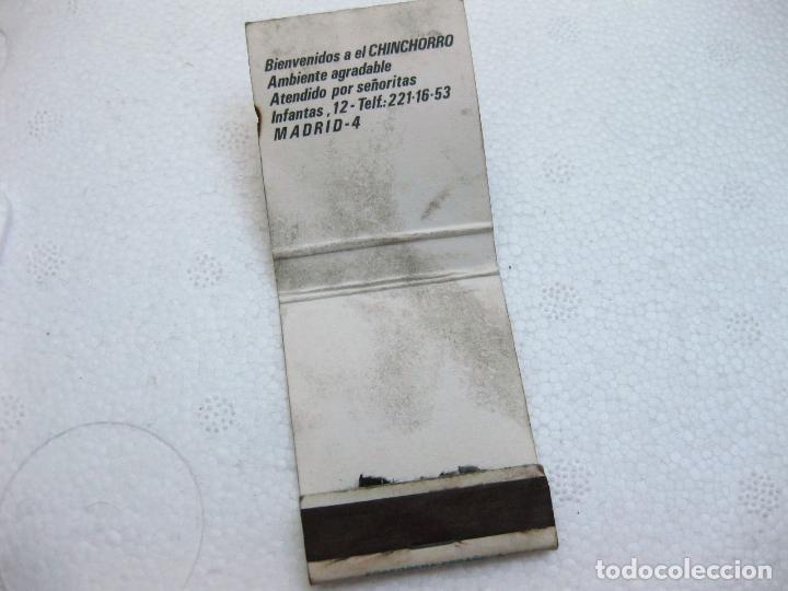 Cajas de Cerillas: CAJA DE CERILLAS PUBLICITARIA DE CERVEZA SCHLITZ - EL CHINCHORRO - Foto 3 - 96819223