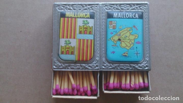 CAJAS CERILLAS RECUERDO DE MALLORCA (Coleccionismo - Objetos para Fumar - Cajas de Cerillas)