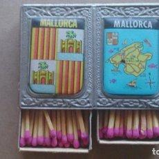 Cajas de Cerillas: CAJAS CERILLAS RECUERDO DE MALLORCA. Lote 96895307