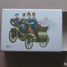 Cajas de Cerillas: CAJA CERILLAS, COCHES ANTIGUOS N 2 NESSELSDORF. Lote 96958611
