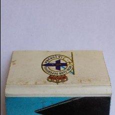 Cajas de Cerillas: CAJA DE CERILLAS DE REAL CLUB DEPORTIVO LA CORUÑA. Lote 96960395
