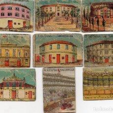 Cajas de Cerillas: FRENTES CAJAS DE CERILLAS SIGLO XIX PLAZAS DE TOROS. Lote 97179407