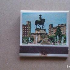 Cajas de Cerillas: CAJA CERILLAS LOGROÑO ESTÀTUA GENERAL ESPARTERO N 28. Lote 97268699