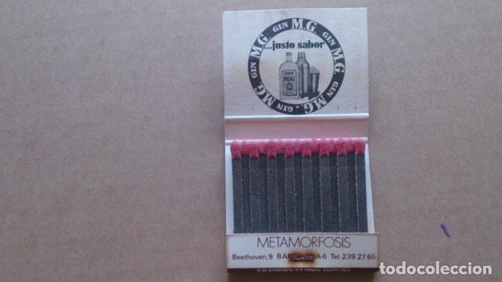 Cajas de Cerillas: CAJA CERILLAS METAMORFOSIS DISCOTECA BARCELONA - Foto 3 - 97281603