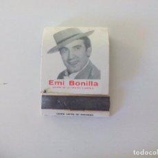 Cajas de Cerillas: TABLAO EL FLAMENCO. EMI BONILLA. MÁLAGA. CAJA DE CERILLAS MATCHBOX D'ALLUMETTES. MATCHES. Lote 97866643