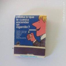 Cajas de Cerillas: FLEX MULTIELASTIC, COLCHONES CAJA DE CERILLAS MATCHBOX ALLUMETTES. MATCHES. Lote 97891347