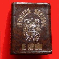 Cajas de Cerillas: CAJA DE CERILLAS DE LA FILMOTECA NACIONAL, CON EL ESCUDO DEL ÁGUILA DE ESPAÑA, ORIGINAL DIFICIL.. Lote 98024883