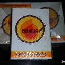 Cajas de Cerillas: LOTE DE CERILLAS ANTIGUAS 20 CAJITAS. Lote 98238563