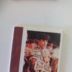Cajas de Cerillas: Nº 2 JAIME OSTOS. TOROS SERIE GRANDES DIESTROS CAJA DE CERILLAS MATCHBOX ALLUMETTES MATCHES. Lote 98243839