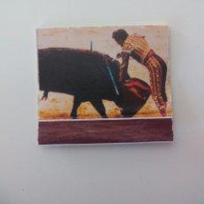 Cajas de Cerillas: 12 ESTOCADA JAIME OSTOS. SERIE SUERTES DEL TOREO,TOROS. CAJA DE CERILLAS MATCHBOX ALLUMETTES MATCHES. Lote 98345063