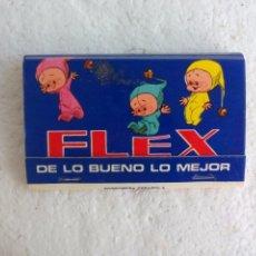 Cajas de Cerillas: FLEX DE LO BUENO LO MEJOR. COLCHONES. CAJA DE CERILLAS MATCHBOX ALLUMETTES MATCHES. Lote 98506223