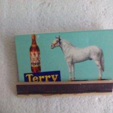 Cajas de Cerillas: BRANY TERRY. SHERRY. CAJA DE CERILLAS. MATCHBOX ALLUMETTES MATCHES. Lote 98507583